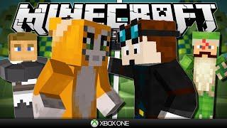getlinkyoutube.com-Minecraft Xbox | Hunger Games vs Stampy & Friends!