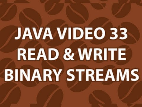 Java Video Tutorial 33