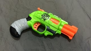 getlinkyoutube.com-[REVIEW] Nerf Double Strike Unboxing, Review, & Firing Test