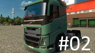 getlinkyoutube.com-Lets play: Euro truck simulator 2. Trucking with moto #02