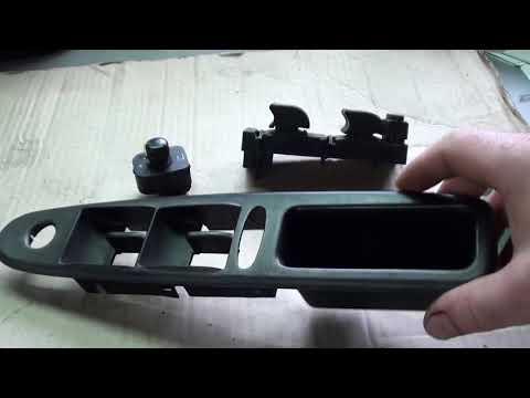 Восстановление, реставрация корпуса кнопок стеклоподъемника