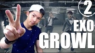 EXO - Growl | Step By Step Dance Tutorial Ep.2