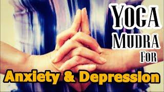 getlinkyoutube.com-Yoga mudra for Anxiety, Stress and Depression