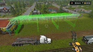 getlinkyoutube.com-Solo Farming Simulator 17 #5 | Ampliando la Granja para almacenar alto tonelaje