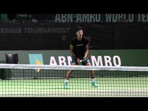 Chung Enjoying Life On ATP World Tour