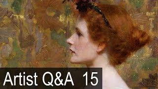 getlinkyoutube.com-Rules of Composition & more – Ep.15 Oil Painting Q&A with Mark Carder