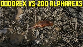 getlinkyoutube.com-Ark Survival Evolved Dodorex vs 200 Alpha Skeleton Rex's Ep.40