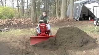 Wheel Horse in dirt