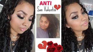 getlinkyoutube.com-Maquillaje ANTI-SAN VALENTIN --QUE IMPORTA 2017