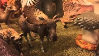 getlinkyoutube.com-Huge Safari Ltd and Schleich Toy Animal Collection