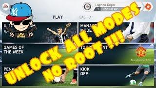 getlinkyoutube.com-FIFA 14 v 1.3.6 Android How To Unlock All Modes No Root 2016