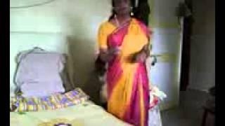 Wearing a Saree  hot bath scene