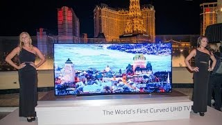 getlinkyoutube.com-Samsung Curved UHD TV - Galaxy Note & Tab Pro - NX30 : CES