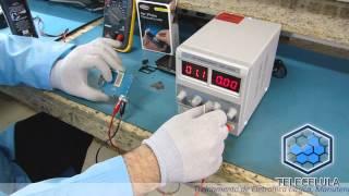 getlinkyoutube.com-Identificando um Componente em Curto-circuito na Placa - Telecelula