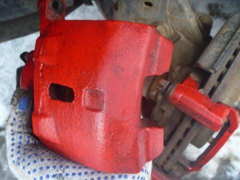 Замена передних тормозных колодок на джили мк кросс