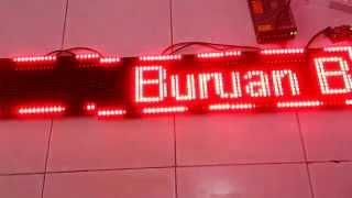 getlinkyoutube.com-Cara Membuat Running Text LED