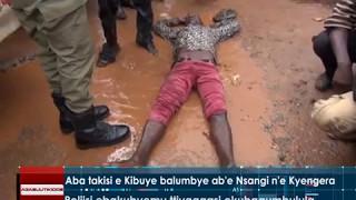 Aba takisi e Kibuye balumbye ab'e Nsangi n'e Kyengera width=