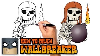 getlinkyoutube.com-How to Draw Wallbreaker- Clash of Clans Video Lesson
