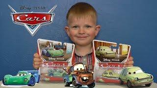getlinkyoutube.com-Тачки Маквин, Карла Гоньяло и Эйсер  Disney Cars Toys Carla Veloso and Acer
