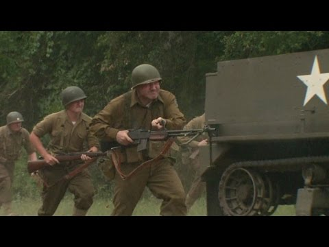 VIDEO: Camp Mabry honors the past with WWII reenactments