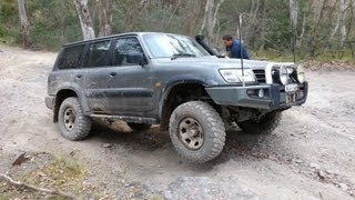 getlinkyoutube.com-Nissan Patrol Y61 GU - THE KING OF 4x4