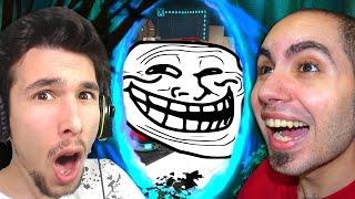 getlinkyoutube.com-LA SFIDA D'INTELLIGENZA! - Portal 2 Multiplayer w/Lyon