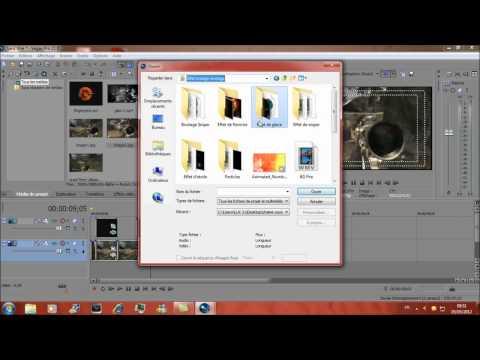 Pack editing +  Tuto Sony Vegas pro 10/11 Animer des Tres bon Effets pour des Montages [MAFTUTO]