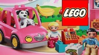 getlinkyoutube.com-Конструктор Лего Дупло - обзор игрушки Lego Duplo Супермаркет 10546