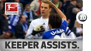 getlinkyoutube.com-Top 10 Goalkeeper Assists
