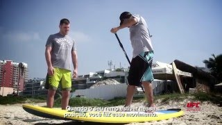 Gym Escape com Stipe Miocic: Um dia de Stand Up Paddle