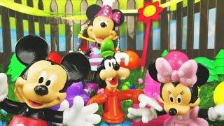 getlinkyoutube.com-Spielspaß mit Mickey Mouse und seinen Freunden - Geburtstagsparty für Goofy