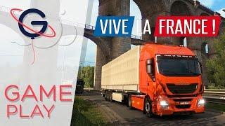 getlinkyoutube.com-Euro Truck Simulator 2 - DLC VIVE LA FRANCE ! | Gameplay FR