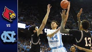 getlinkyoutube.com-Louisville vs. North Carolina Men's Basketball Highlight's (2016-17)