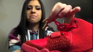 Super max perfect Nike Air Yeezy 2 Red October REP Review unboxing for men sales