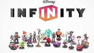 disney infinity - toy box character montage