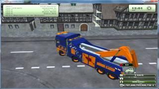 getlinkyoutube.com-Modtest LS 13 (Scania R700 Abschlepp-LKW)