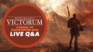 Hoplomachus Victorum replay of Live Q&A