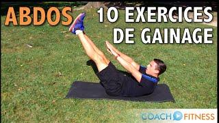 getlinkyoutube.com-10 exercices de gainage pour les abdominaux - CoachFitness
