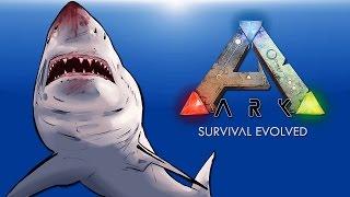 getlinkyoutube.com-Ark Survival Evolved EP .5 (Worst Adventure Ever!) Sharks everywhere!