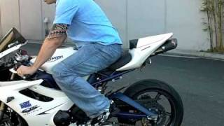 getlinkyoutube.com-Sportbike Quick Shifter quickshift Triumph 675