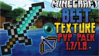 1.7/1.8 AMAZING MINECRAFT DEFAULT PVP TEXTURE PACK! [low fire,clear water]+ Free Download