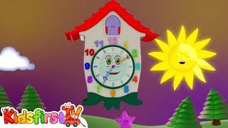 getlinkyoutube.com-Kids Cartoons in 3D animation: Clock! {时钟时间}