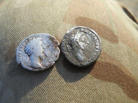 Коп по старине - серебро древнего мира