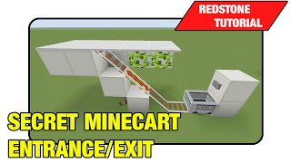 "getlinkyoutube.com-Secret Minecart Entrance/Exit ""Tutorial"" (Minecraft Xbox/Ps3 TU16)"