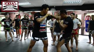getlinkyoutube.com-YOKKAO Muay Thai SEMINAR feat. Saenchai and Pakorn at YOKKAO Training Center Kuala Lumpur