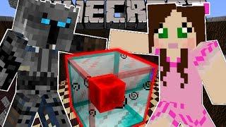 getlinkyoutube.com-Minecraft: UNLUCKY BLOCK CHALLENGE (BLOCK OF PURE EVIL!) Custom Command