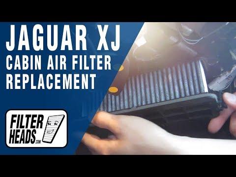 How to Replace Cabin Air Filter Jaguar XJ