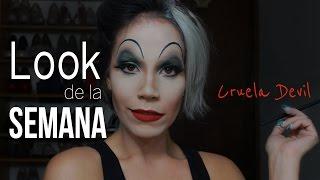 getlinkyoutube.com-Especial de Halloween - Cruela Devil - Cynthia La'Maquilladora