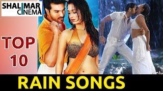 getlinkyoutube.com-Top 10 Telugu Rain Songs Jukebox || Best Collections || Telugu Latest Video Songs