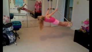 Liv at 5 years old doing gymnastics :)